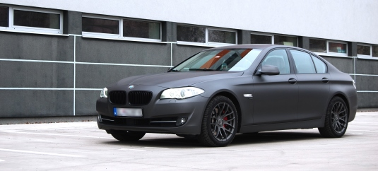 BMW 5 F10 Anthracite True Metallic