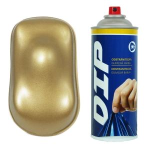 DIP sprej Starozlatá metalická